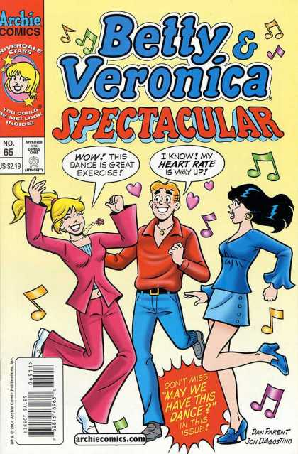 Betty and Veronica Spectacular 65