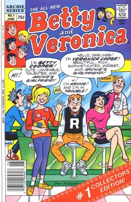 Betty and Veronica 1