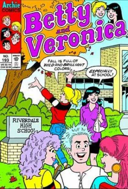 Betty and Veronica 193 - Archie Comics - Riverdale - High School - Brilliant - Colors