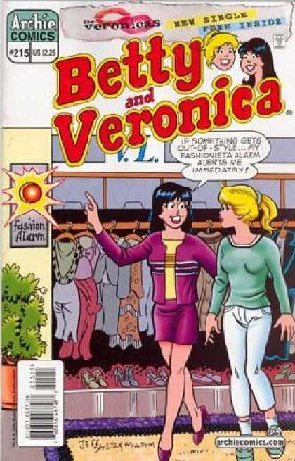 Betty and Veronica 215 - Archie Comics - Betty - Veronica - Fashion - Clothes