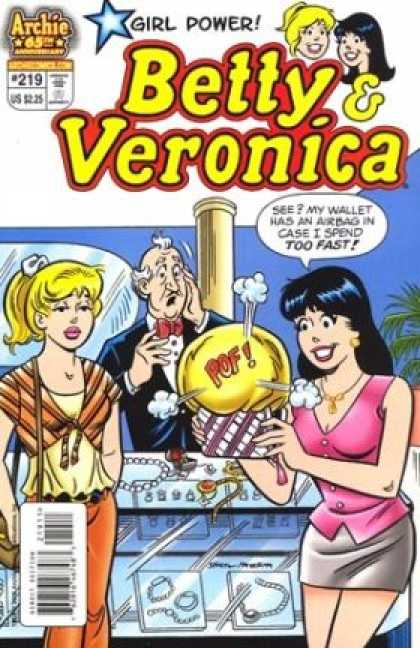 Betty and Veronica 219 - Girl Power - Sexist - Jewelry - Spending Money - Shopping