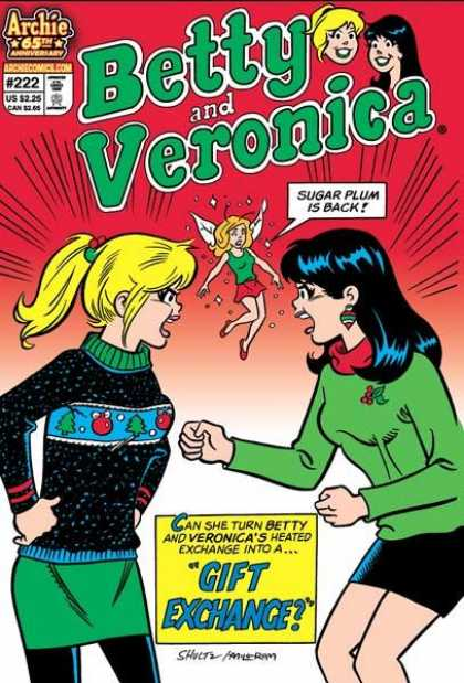 Betty and Veronica 222 - Archie - 65th Anniversary - Sugar Plum - Gift Exchange - 222