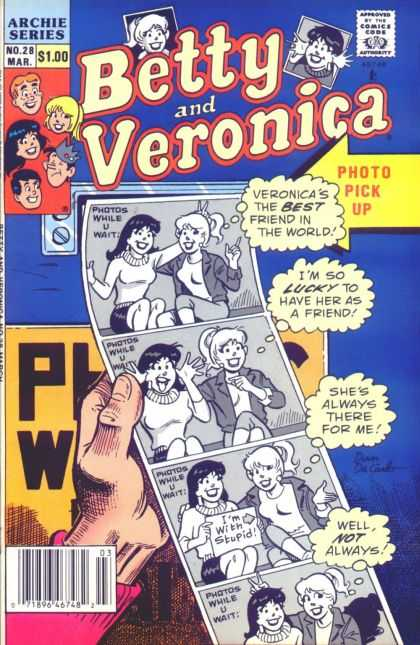 Betty and Veronica 28 - Beettyand Veronica - Archie Series - 100 - Photo Pisc Up - Always