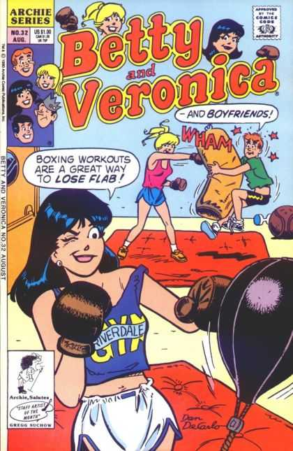 Betty and Veronica 32 - Comics Code - Archie Series - Girls - Boys - Box