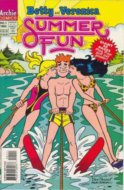 Betty & Veronica Summer Fun 1