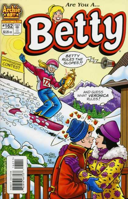 Betty 162 - Snow - Snowboard - Trophy - Girls - Boy - Stan Goldberg