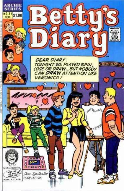 Betty's Diary 31 - Teenagers - Love - Romance - Attractive - Fun