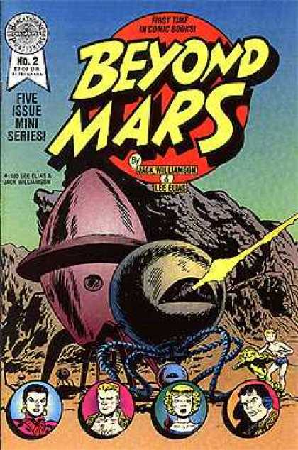 Beyond Mars 2 - Jack Williamson - Lee Elias - Spaceship - Mini Series - Firing