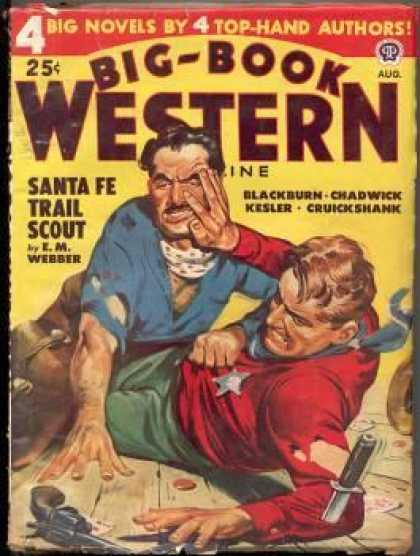 Big-Book Western Magazine - 8/1948