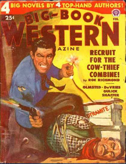 Big-Book Western Magazine - 2/1950