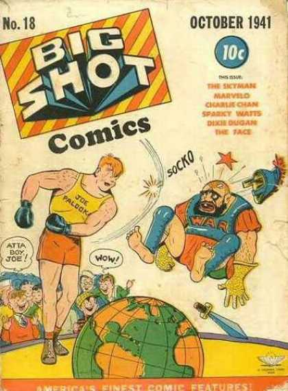 Big Shot 18 - October 1941 - Comics - Socko - Wow - Palook