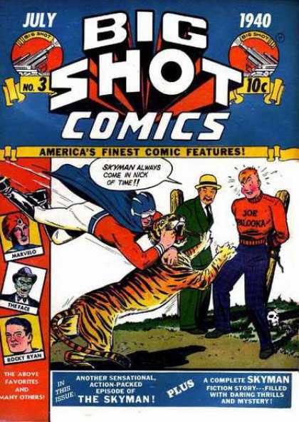 Big Shot 3 - Skyman - Tiger - Marvelo - The Face - Rocky Ryan