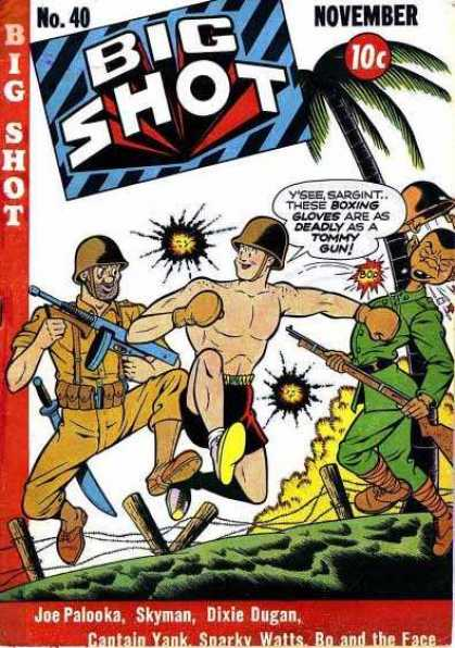 Big Shot 40 - Big Shot - 40 - Boxing - Joe Palooka - Skyman
