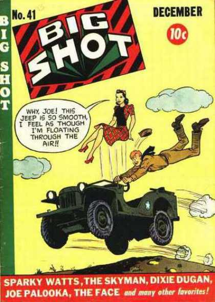 Big Shot 41 - Jeep - Clouds - Joe - Sparky Watts - Skyman