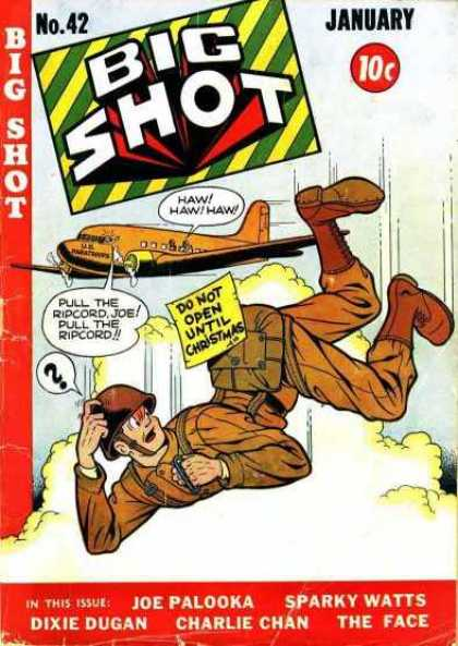 Big Shot 42 - Parachute - Falling - Ripcord - Christmas - Airplane
