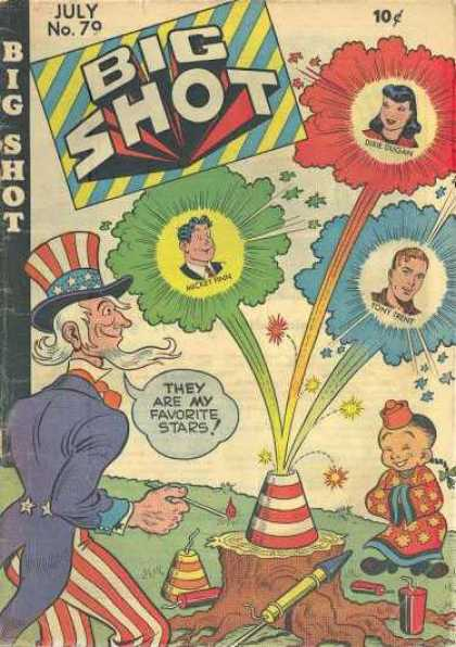 Big Shot 79 - Uncle Sam - Old - Firework - Star - Collection