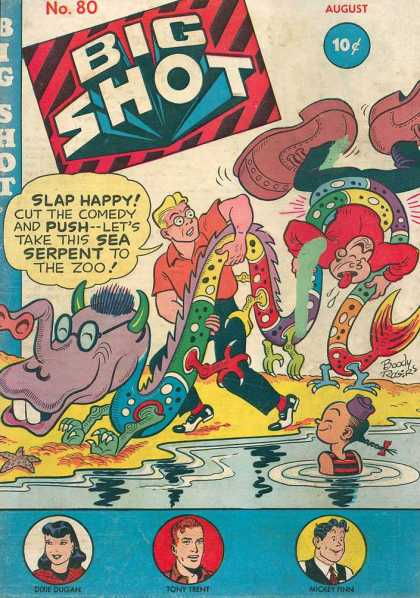 Big Shot 80 - Sea Serpent - Water - Comedy - Slap Happy - Chinese