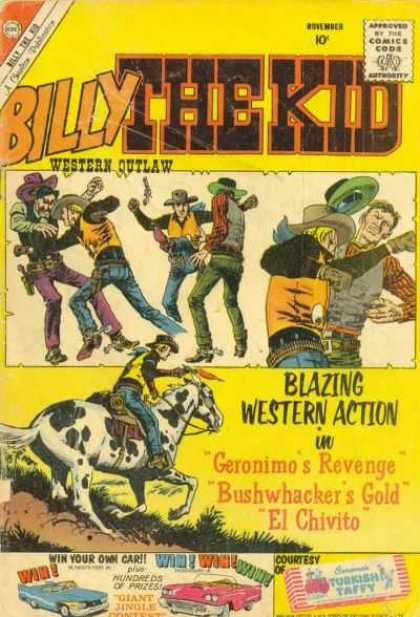 Billy the Kid 25 - Blazing Western Action - Gunslingers - Horse - Geronimos Revenge - El Chivito