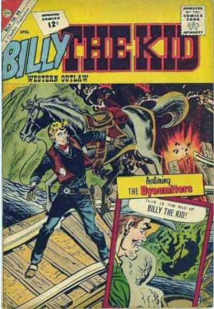 Billy the Kid 33 - Hero In Horse - King Of Forest - Western Outlaw - The Dynamiters - The Belt