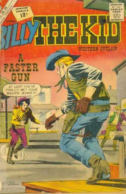 Billy the Kid 36 - Cowboy - Saloon - Guns - Boots - Hats