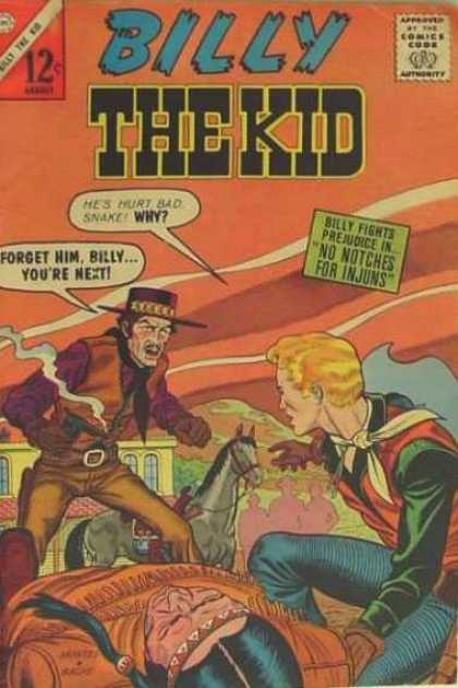 Billy the Kid 41 - Western - Guns - Horse - Indian - Town