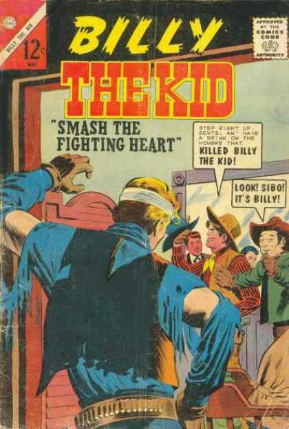 Billy the Kid 45 - Smash The Fighting Heart - Killed Billy The Kid - Look Sibo Its Billy - Hat - In A Room