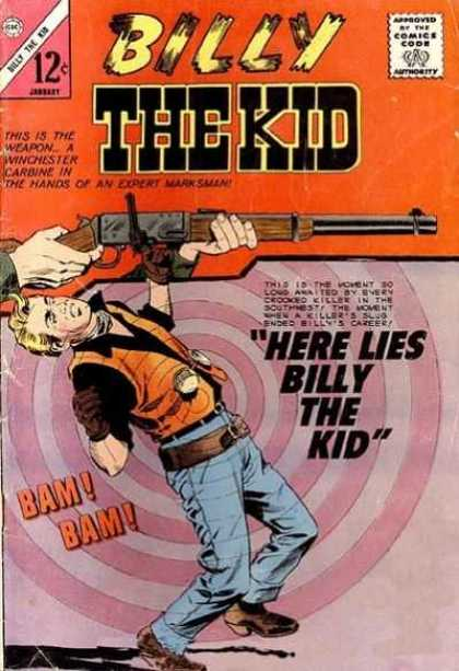 Billy the Kid 48 - Gun - Man - Shoot - Built - Face
