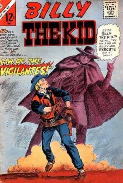 Billy the Kid 55 - Law Of The Vigilantes - Gun - Wild West - Masked Man - Cowboy
