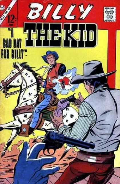 Billy the Kid 61 - Cowboy - Horse - Shooting - West - Outlaw