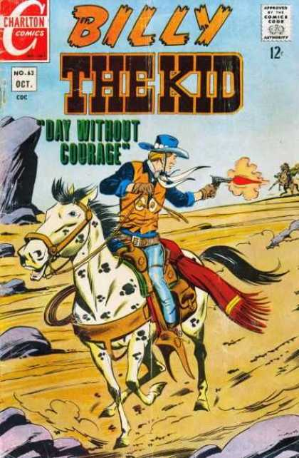 Billy the Kid 63 - Day Without Courage - Cowboy - Gun Fire - Western - Horse