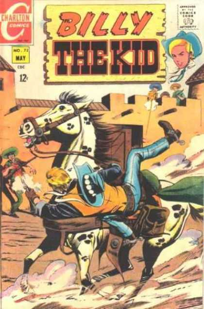 Billy the Kid 72 - Horse - Wild West - Guns - Shooting - Cowboys