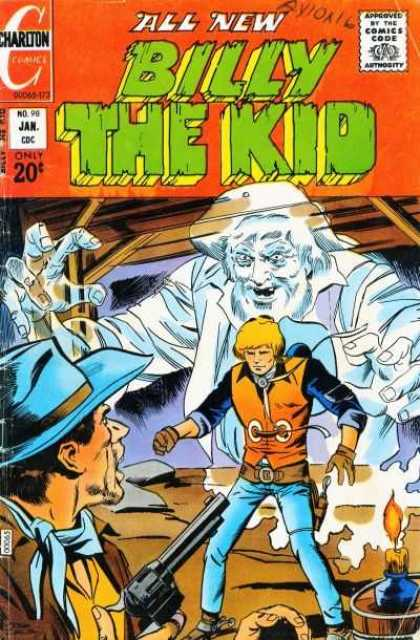 Billy the Kid 98 - Charlton Comics - Silver Age - Ghosts - Westerns - Guns