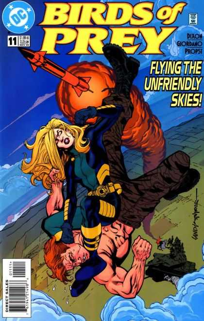 Birds of Prey 11 - Dc - Rocket - Woman - Dixon - Approved By The Comics Code - Brian Stelfreeze