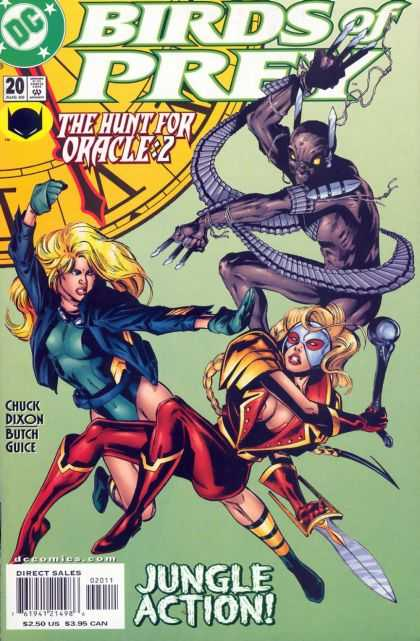 Birds of Prey 20 - Woman - Monster - The Hunt For Oracle-2 - Chuck Dixon - Butch Guice