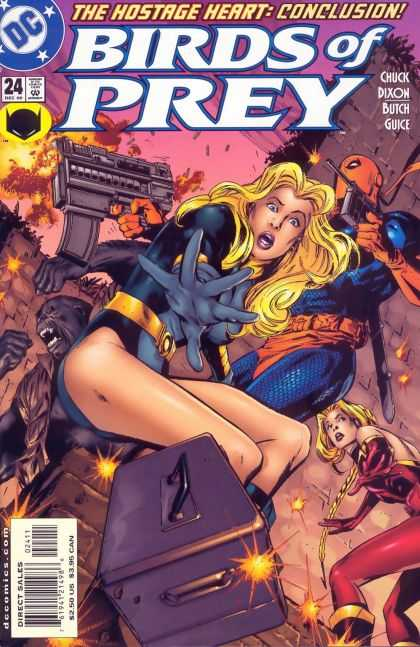 Birds of Prey 24 - Hostage Heart - Conclusion - Dc - Chuck Dixon - Butch Guice