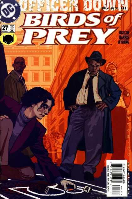 Birds of Prey 27 - Part Iii - Clue - Detectives - Chalk - Alley