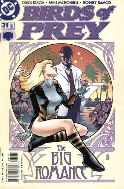 Birds of Prey 31 - Dixon - Spin-off - Heroine - Batman - Romance - Alex Sinclair, J Jones