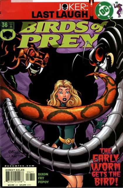 Birds of Prey 36 - Ed McGuinness