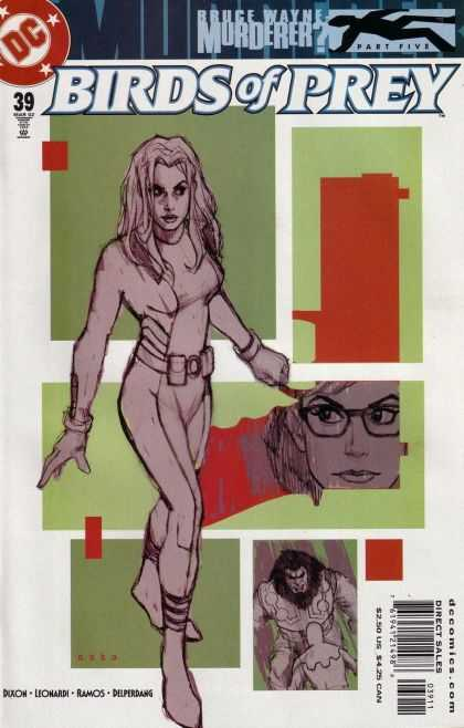 Birds of Prey 39 - Cell Phone - Shades - Watch - Woman - Belt Buckle - Phil Noto