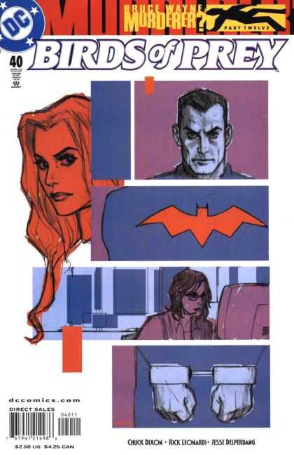 Birds of Prey 40 - Brue Wayne - Dc - Bat - Handcuffs - Chuck Dixon - Phil Noto