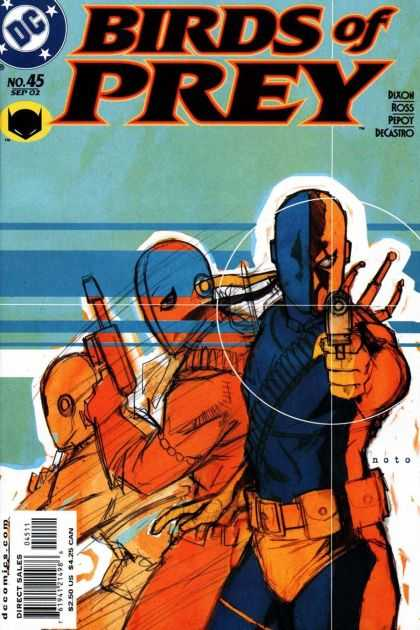 Birds of Prey 45 - Crosshairs - Utility Belt - Ray Gun - Half Mask - Bandolier - Phil Noto