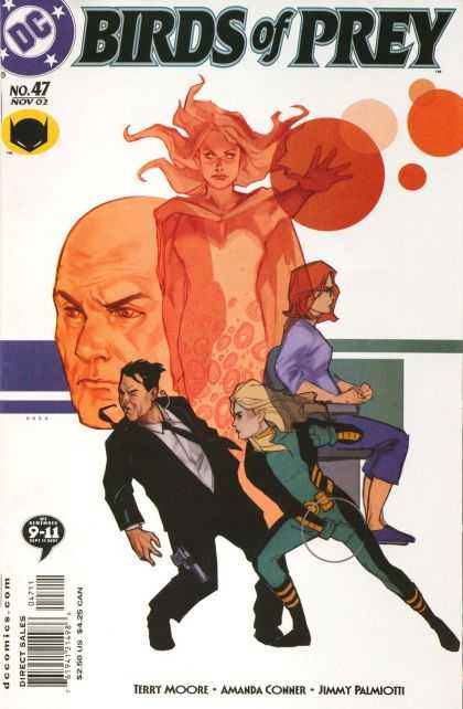 Birds of Prey 47 - Birds - Fighting - Orbs - Tuxedo - Girls - Phil Noto