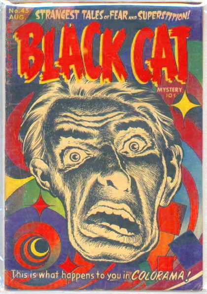 Black Cat 45 - Colorama - Distortion - Superstition - Mystery - Strangest Tales