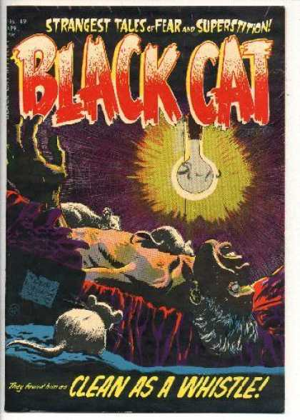 Black Cat 49 - Mouse - Light - Death - Strange Tales - Whistle
