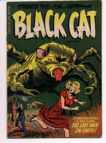 Black Cat 53 - Mystery - Rifle - Giant Insect - Woman - Chase