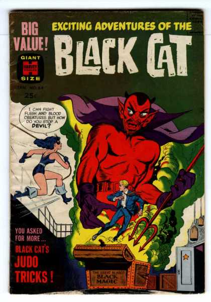 Black Cat 64 - Devil - Adventures - Giant Size - Black Magic - Treasure