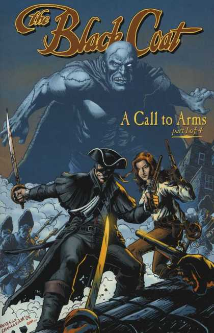 Black Coat 1 - A Call To Arms - Guns - Sword - Demon - Attack