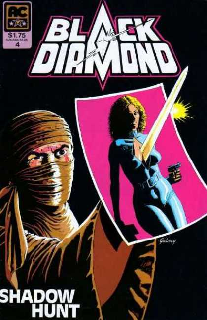 Black Diamond 4 - Sword - Warrior - Photo - Womn - Shadow Hunt - Paul Gulacy