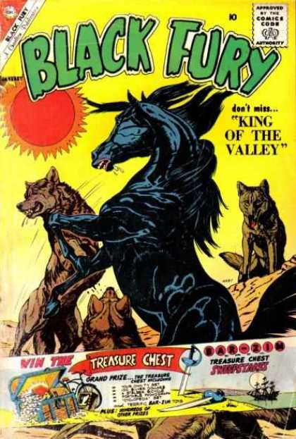 Black Fury 28 - Black Fury - King Of The Valley - Treasure Chest - Wolves - Black Horse