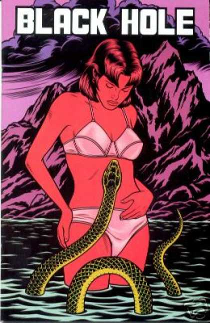 Black Hole 7 - Snake - Water - Underwear - Girl